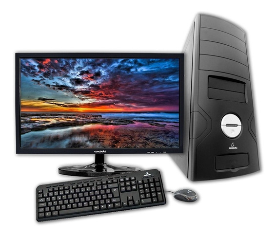 Computador Com Monitor 21.5 Concordia Amd Fx 4300 4gb Hd