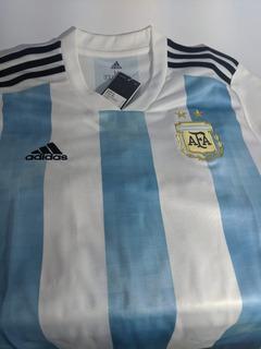 Camisa adidas Argentina I 1 Home Copa Do Mundo Original