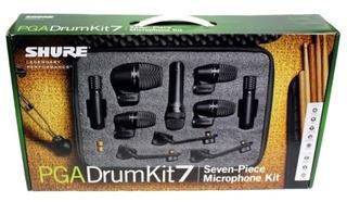 Micrófonos Para Batería De 7 Piezas Shure Pgadrumkit7