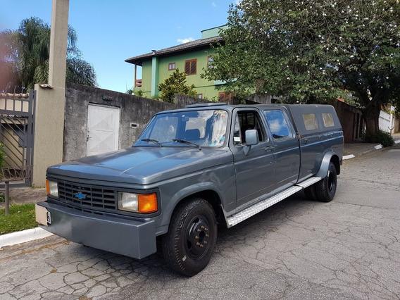 Raro Caminhão Chevrolet D40 Convertido Em Caminhonete Dupla