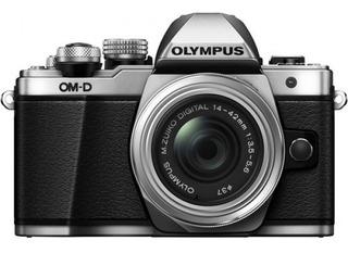 Cámara Olympus E-m10 Mark Ii C/14-42mm Ii R Plata