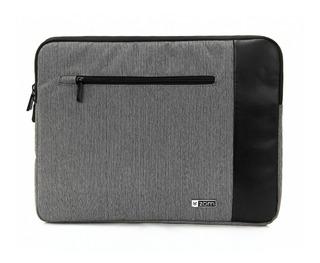 Funda Notebook 14 Zom Zf14-200j Tela Espumada Felpa Cierre