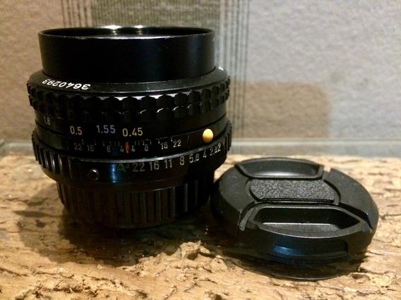 Lente Pentax-a 50mm F/2 Smc Revisada 3640293 Excelente