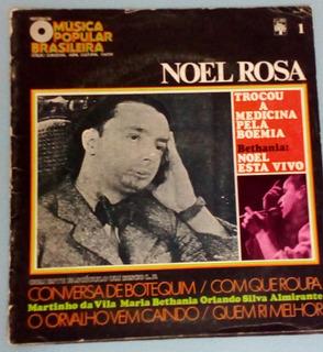 Lp Noel Rosa História Da Musica Popular Brasileira Enc Raro