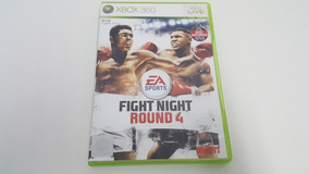 Fight Night Round 4 - Xbox 360 - Original - Mídia Física