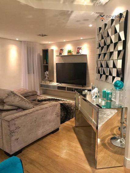 Apartamento Duplex Com 2 Dormitórios À Venda, 170 M² Por R$ 1.400.000 - Jardim - Santo André/sp - Ad0007