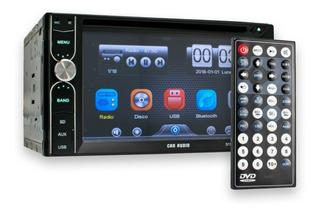 Auto Estéreo 2 Din 6.2 Pantalla Touch Dvd Bluetooth Usb