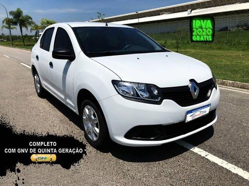 Renault Logan Authentic 1.0 Com Gnv