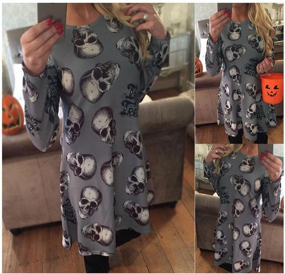 Ebay Inverno Novo Halloween Moda Natal Roupas Europa