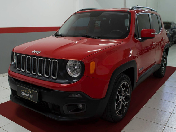 Jeep Renegade 2016 1.8 Longitude Autom - Excelente Estado