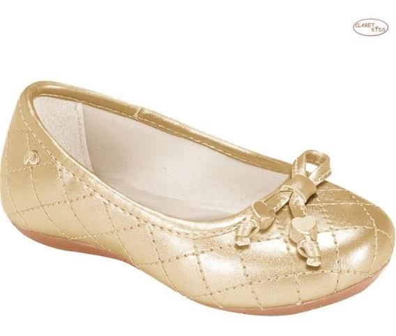 Sapatilha Pampili Bailarina Dourada