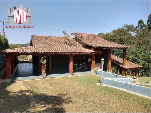 Imagem 1 de 30 de Chácara Com Escritura, 03 Dormitórios À Venda, 1080 M² Por R$ 370.000 - Zona Rural - Pinhalzinho/sp - Ch0202