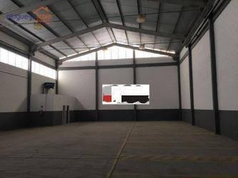 Galpão Para Alugar, 750 M² Por R$ 12.000,00/mês - Eldorado - São José Dos Campos/sp - Ga0143
