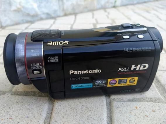 Filmadora Panasonic Video Full Hd + Foto Hdc-sd900/tm900