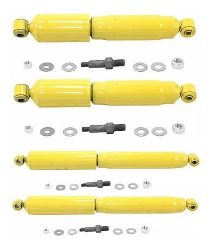 4 Amortiguadores Monroe Del & Tras Chevrolet C10 C20 C30 4x2