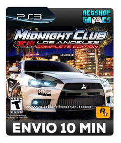 Midnight Club: Los Angeles Complete Edition - Psn Ps3 Oferta