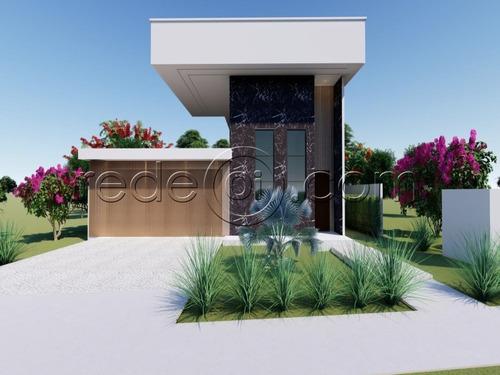 Imagem 1 de 6 de Casa 4 Suítes - 2 Americanas - Terras Alpha Residencial 1 - Senador Canedo - Go - Ca00289 - 68987673