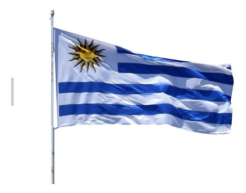 Imagen 1 de 1 de Bandera De Uruguay 150 Cm X 90 Cm