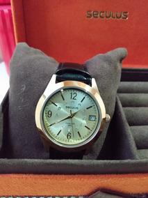 Relógio Seculus 24718lpsbra Lindo Luxo Promoção Muito Barato