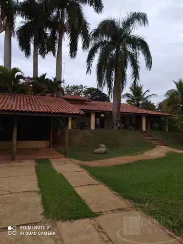 Imagem 1 de 30 de Linda Chácara Para Venda No Condominio Itambe Na Machado Santanna, Excelente Localização, 3 Dormitorios 1 Suite, Completa, Em 5.000 M2 - Ch00061 - 69732592