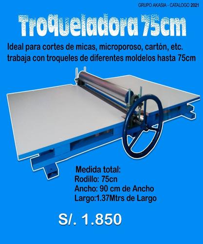 Imagen 1 de 2 de Maquina Troqueladora 75cm