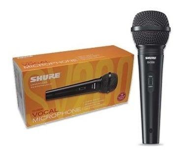 Microfono Shure Sv200 Vocal Mano Karaoke Djs Original Nuevo