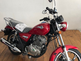 Haojue Custom Chopper Road 150cc Vermelha 2019