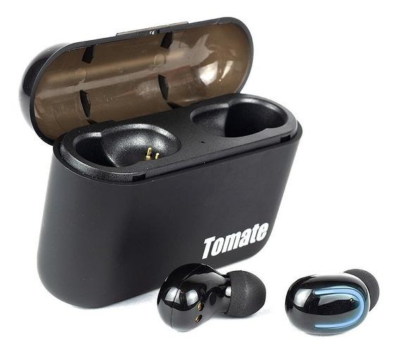 Fone De Ouvido Sem Fio Wireless Bluetooth Tomate 8801 Black