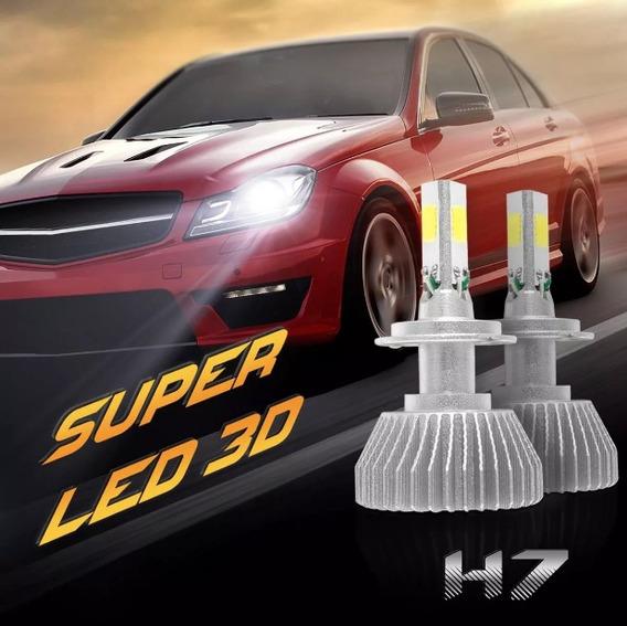 Xenon Super Led 3d Carro 6000k H7 3200 Lumens 36w 12-24v
