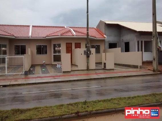 Casa Geminada Nova Para Venda No Bairro Bella Vista, Palhoça, Sc, Programa Minha Casa Minha Vida Mcmv - Ca00150