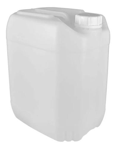 Imagem 1 de 2 de Bombona Plástica Branca 20l  - Unidade