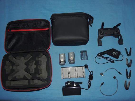 Combo Dji Spark - Baterias, Case, Bolsa, Radio - Sem Drone