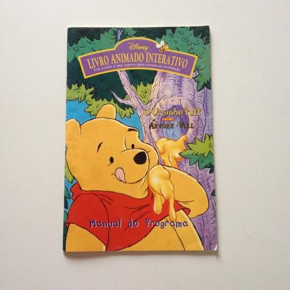 Livro Animado Interativo Ursinho Puff Manual Programa Ee289