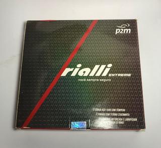 Kit Relação Moto Rialli Aço 1045 Extreme C/ret Fan 125 09~13