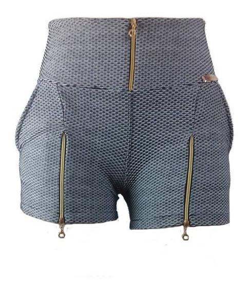 Shorts Curto Jacquard