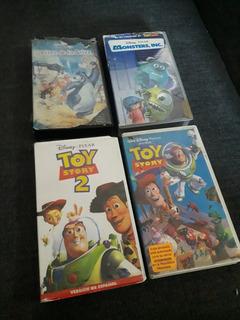 Pelicula Vhs Toy Story 1 2 El Libro De La Selva Monster Inc