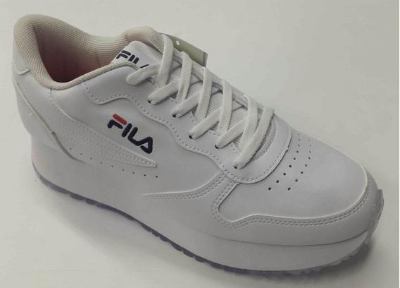 Zapatilla Fila Jogger Sport W Con Plataforma