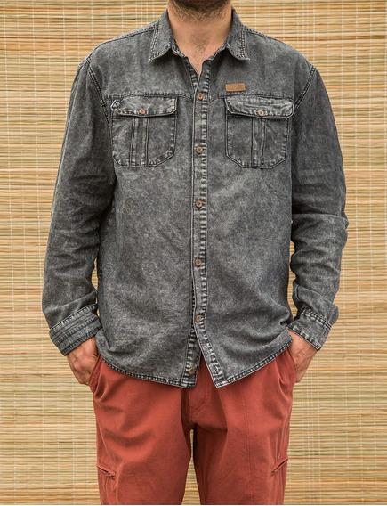 Camisa Hombre James-jeans Negro Lippi
