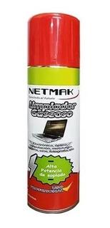 Aire Comprimido Netmak Nm-ac160 Aerosol Con Gatillo 160gr