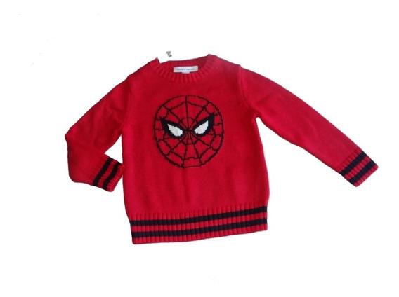 Sueter Gap Infantil Menino Homem Aranha Sweater Original