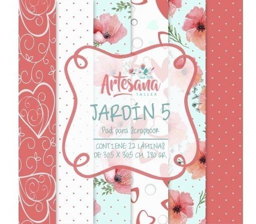 Papeles Para Scrapbook Jardin 5