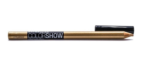 Lápis De Olhos Color Show Maybelline - Cor 30 Dourado