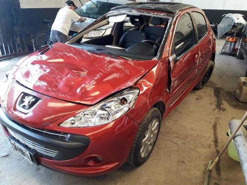 Peugeot 207 Xt 1.6 N 5p 2011 Chocado No Volcado Funcionando
