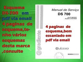 Esquema Ds-700 Ds700 Em Pdf Via Email 4 Paginas De Esq