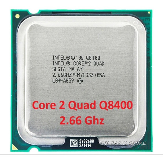 Cpu Processador Core 2 Quad Q8400 2.66ghz Lga 775 + Brinde