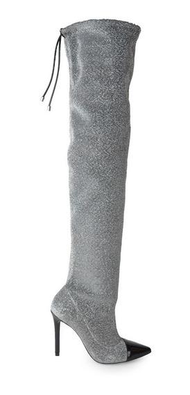 Bucaneras Botas De Mujer De Textil Poliéster Milos - Ferraro