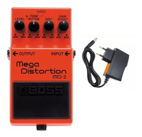 Pedal Boss Md 2 Mega Distortion Md2 Original - Loja Kadu Som