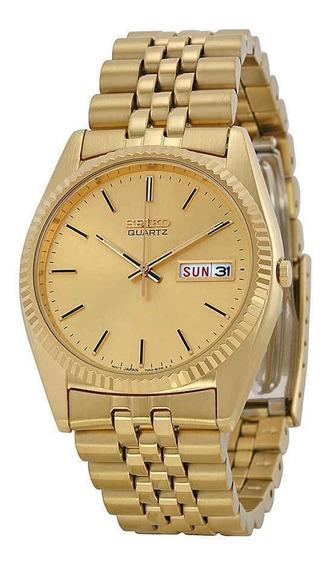 Relógio Seiko Gold Classic Sgf206