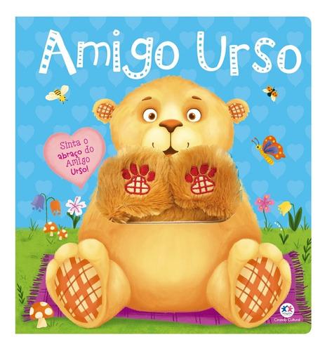 Imagem 1 de 2 de Livro Infantil Ciranda Cultural Amigo Urso Amarelo E Azul