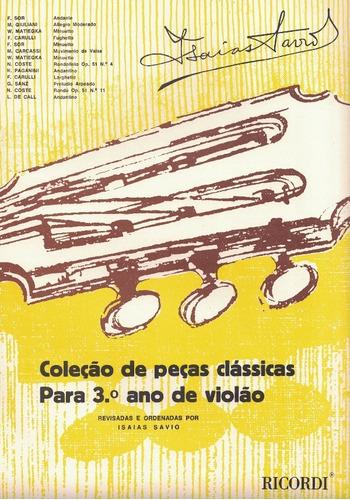 Imagem 1 de 1 de Coleção De Peças Classicas Para 3º Ano De Violao - Rb-0153